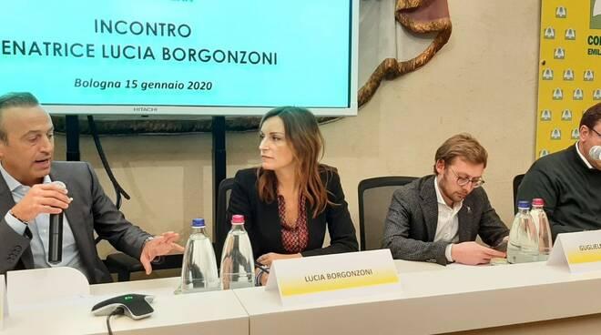 Lucia Borgonzoni incontra Coldiretti