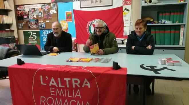 Paolo Ferrero, Maura Cesena, Lino Anelli (L'altra Emilia Romagna)