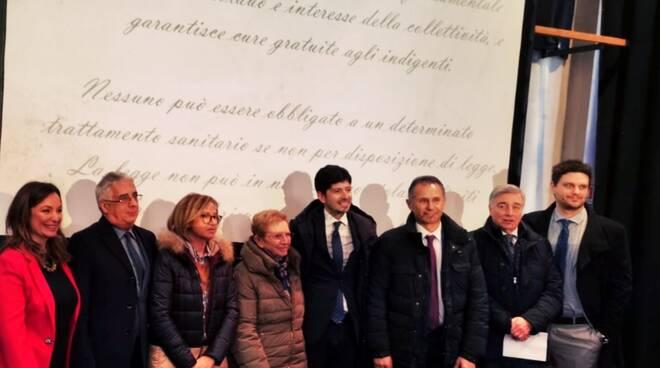 Roberto Speranza a Piacenza con l'ordine degli psicologi