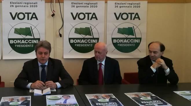 Stefano Perrucci, Bruno Tabacci, Fabrizio Faimali