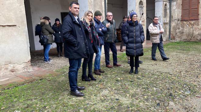 Visita del sottosegretario Lorenza Bonaccorsi alla Rocca di Monticelli