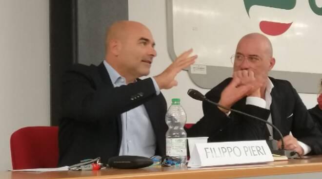 Bonaccini e Filippo Pieri
