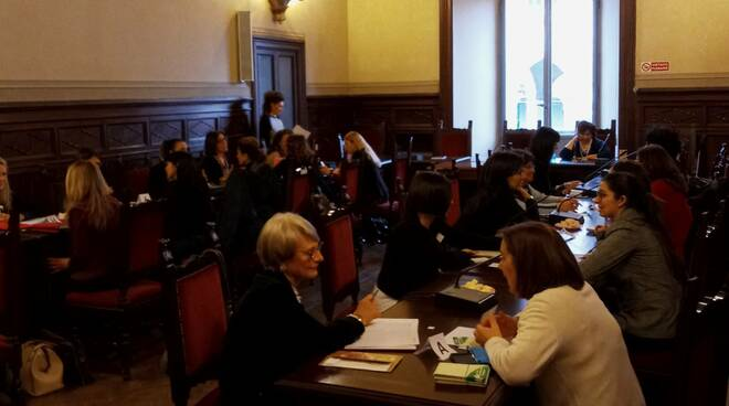 Business speed date al femminile