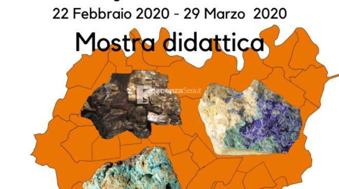 """Mostra e Convegno \""""Minerali e Miniere del Piacentino\"""""""
