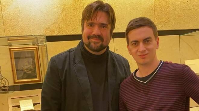 Davide Cabassi e studente