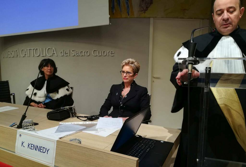 Dies Academicus con Kerry Kennedy
