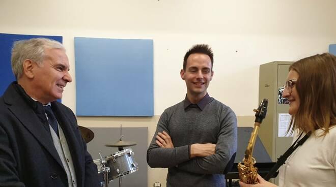 Il prefetto Maurizio Falco in visita al Conservatorio Nicolini