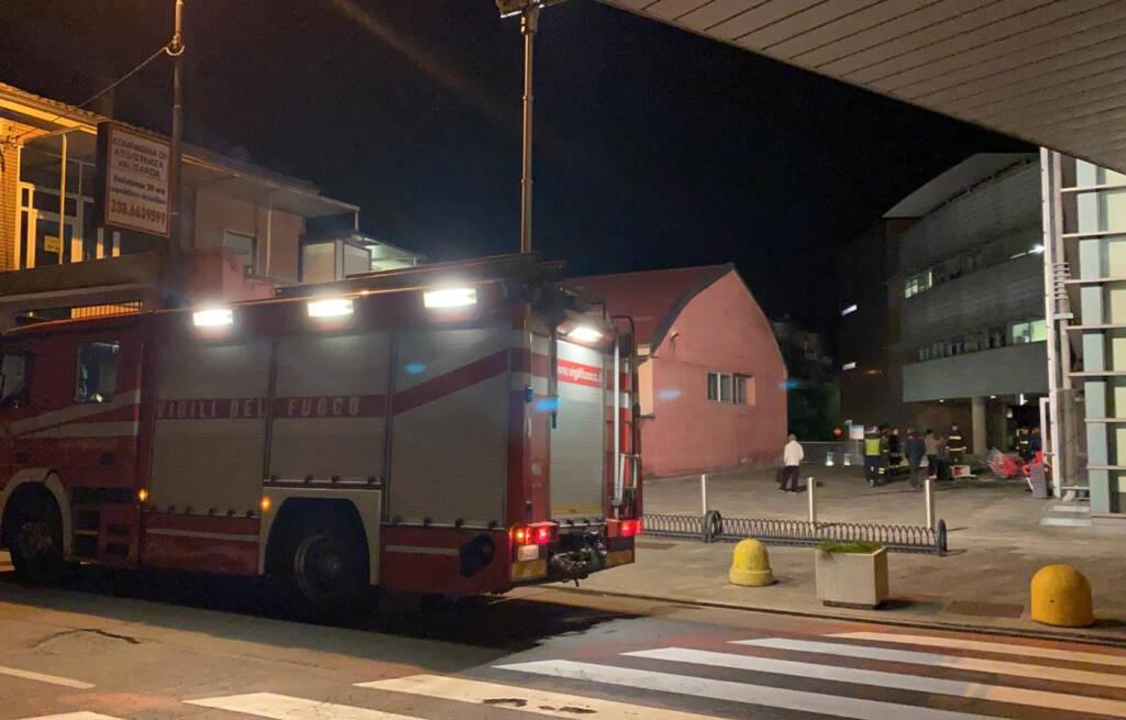 Incendio ospedale Fiorenzuola