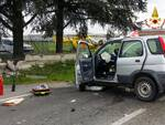 incidente Alseno contro muro