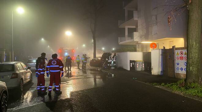 Incidente mortale via Gadolini