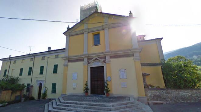 La chiesa di Sant'Ilario a Rallio di Montechiaro