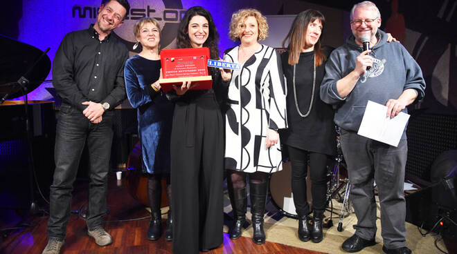 La premiazione di Ada Flocco