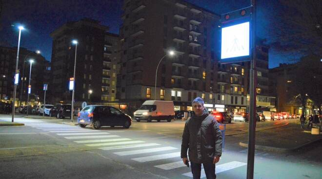 Marco Tassi, attraversamento luminoso