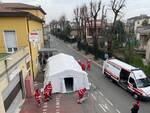Postazione medica avanzata a Castel San Giovanni