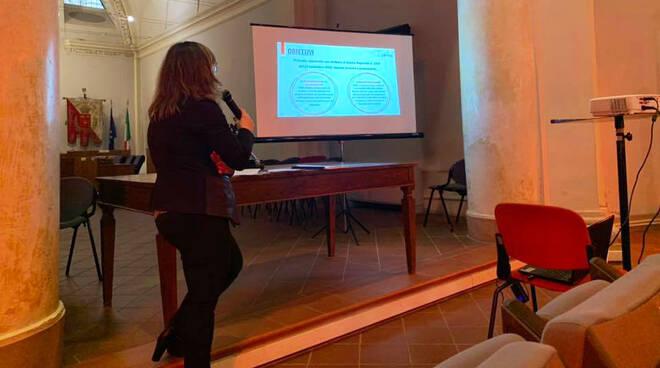 Presentazione bando commercio (Foto dalla pagina Facebook di Ecipar Piacenza)