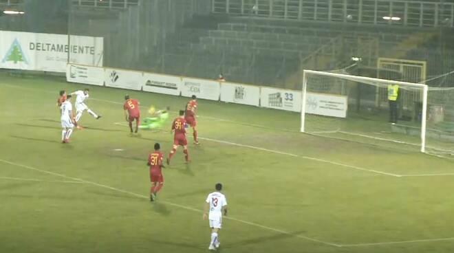Ravenna Piacenza gol di Della Latta