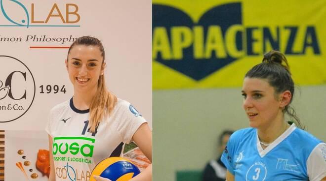 Sara Colombano (Busa) Micaela Perini (Nure Volley)