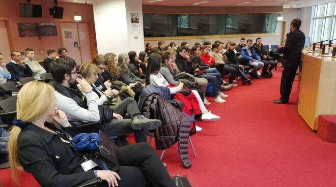 Studenti piacentini al parlamento europeo