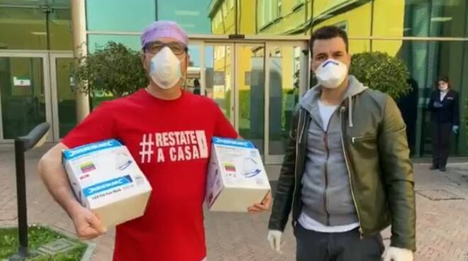 Centro Medico Rocca donazione mascherine