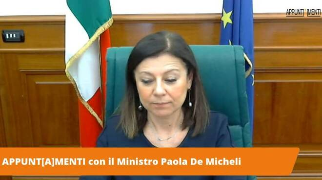 De Micheli in quarantena