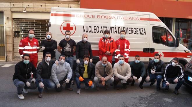 Donazione SiCobas a Croce Rossa