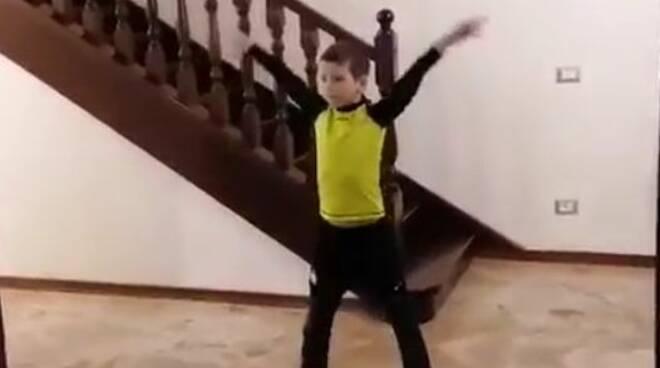 Giacomo, vincitore di Piacenza Baby Got Talent