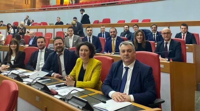 I consiglieri della Lega in Regione