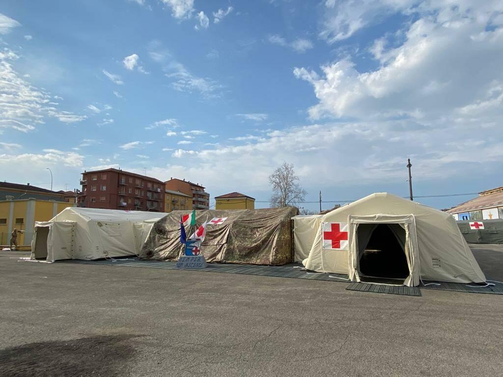 L'ospedale da campo dell'Esercito