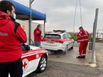 Lavaggio mezzi Croce Rossa
