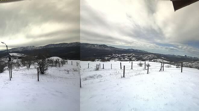 neve 3 marzo 2019 monti piacentini