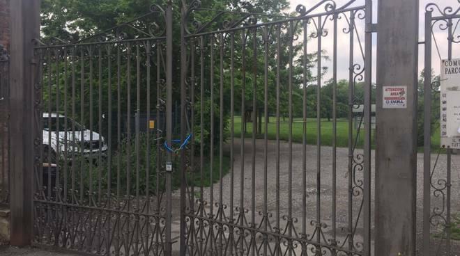 Parco della Galleana chiuso