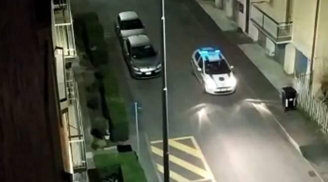 polizia locale altoparlanti