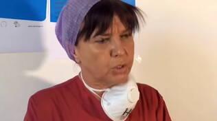Roberta Re infermiera