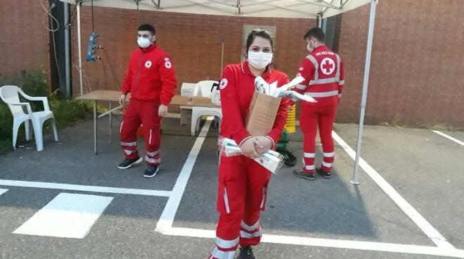 Spesa e farmaci a domicilio - Croce Rossa