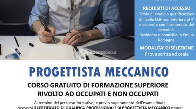 CORSO GRATUITO PROGETTISTA MECCANICO_iscrizioni aperte fino al 15 aprile 2020!
