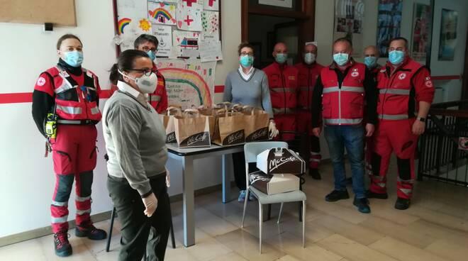 Colazioni mcdonalds per Croce Rossa Piacenza