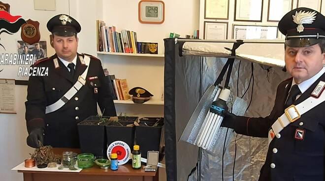 Droga sequestrata dai carabinieri di San Nicolò