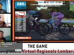 Gara ciclismo virtuale Cadeo Carpaneto