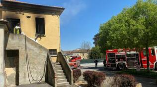 Incendio a Gragnano