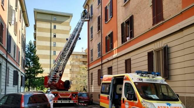 intervento vigili del fuoco