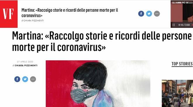 Martina Picca coronavirus