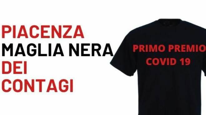 Piacenza maglia nera dei contagi