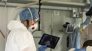 Sonde wifi per ecografie ospedale