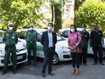 Consegna auto a guardie ecologiche