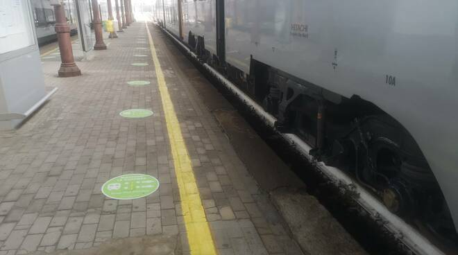 distanziamento sociale treno
