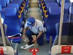 L'interno di un treno