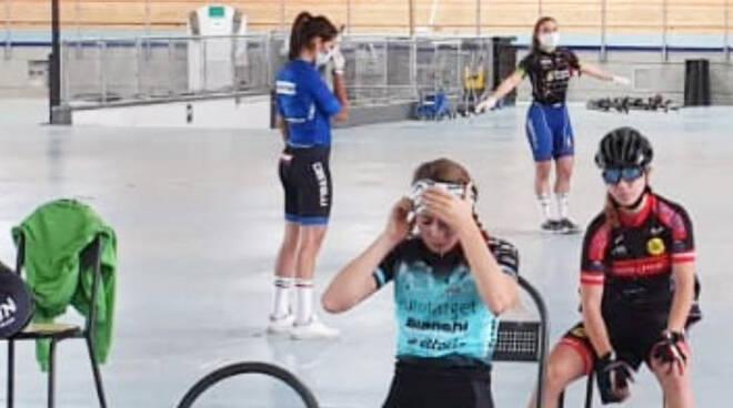 La seduta di allenamento delle azzurrine a Montichiari
