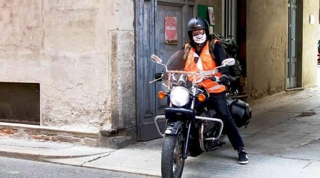 Moto Guzzi con Francesco Zarbano