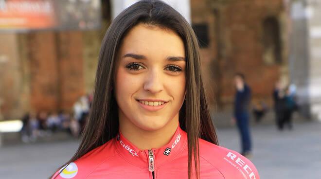 Nella foto di Fabiano Ghilardi, Eleonora Camilla Gasparrini (VO2 Team Pink)