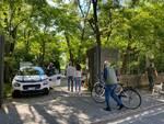 Primo giorno di apertura dei parchi pubblici